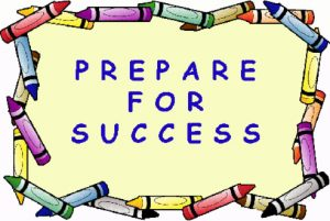 Prepare for Success Crayons Logo